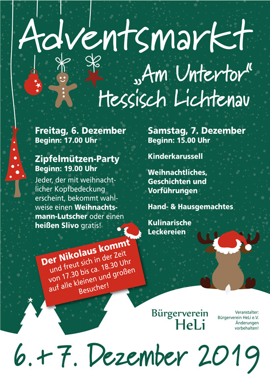191124 Programm adventsmarkt am Untertor 2019